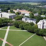"""TYPIFIED BY SCHOOLS FOR HIGHER-LEARNING such as The University of Rhode Island in South Kingstown, shown above, credit ratings firm Fitch noted that Rhode Island's economy is """"weighted toward education and health services."""" / COURTESY UNIVERSITY OF RHODE ISLAND"""