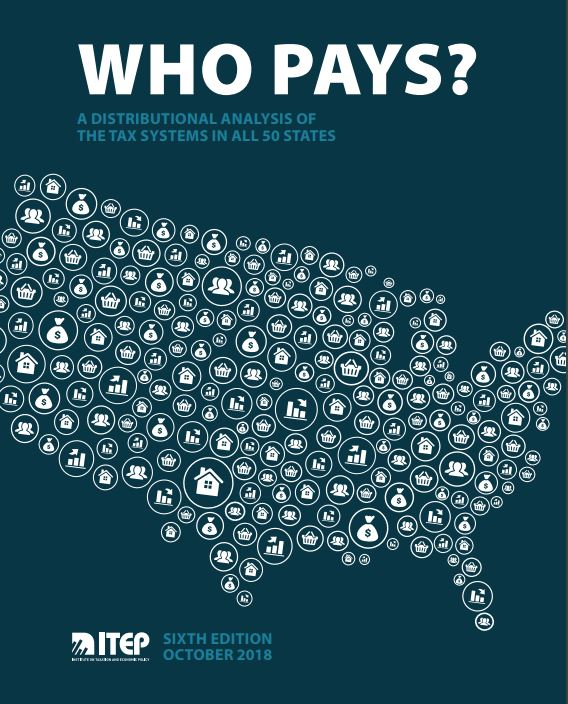 THE INSTITUTE ON TAXATION AND ECONOMIC POLICY said that Rhode Island having the No. 32 least equitable income-to-tax ratios state in the U.S. in a new report. / COURTESY INSTITUTE ON TAXATION AND ECONOMIC POLICY