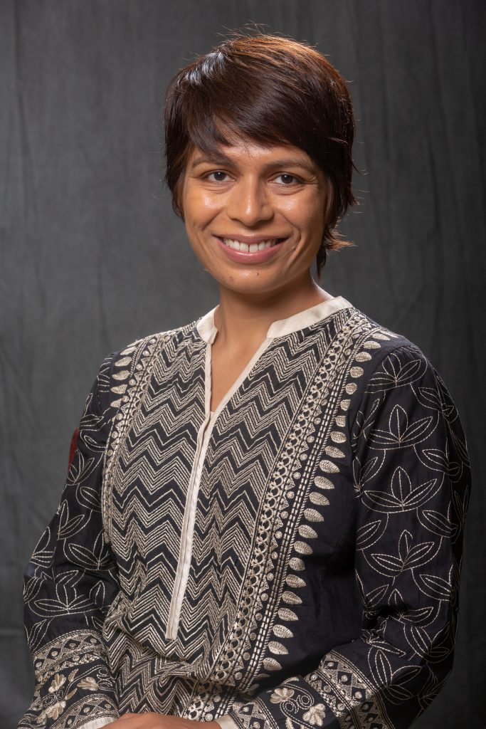 SHAN MUKHTAR was named director of the Center at Moore Hall on Monday by Providence College. She will develop and facilitate diversity, equity and inclusion initiatives at the Catholic college. / COURTESY PROVIDENCE COLLEGE