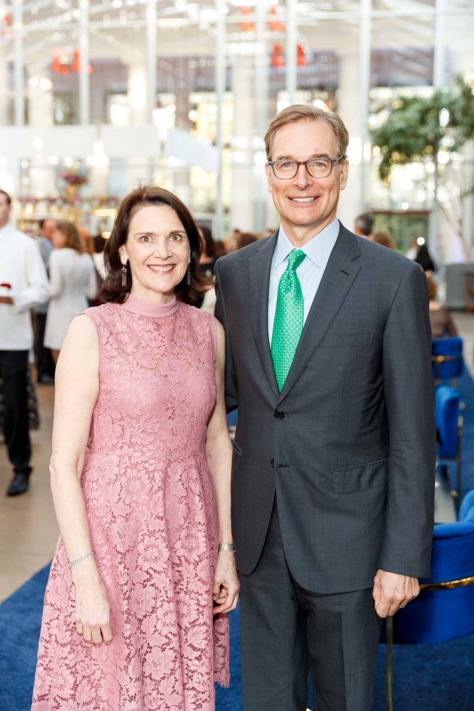 ON TUESDAY, Brown University announced the receipt of a $31.6 million gift from Diana Nelson and John Atwater. More than half of the gift will fund the creation of an open plan lobby in the school's soon-to-be-built performing arts center. The couple are pictured earlier this year at the 2018 Big Bang Gala benefiting the California Academy of Sciences in San Francisco. / PHOTO BY DREW ALTIZER PHOTOGRAPHY / COURTESY BROWN UNIVERSITY