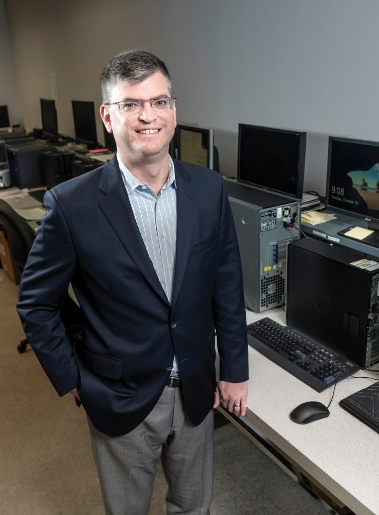 Eric M. Shorr founded Secure Future Tech Solutions while a student at the University of Rhode Island and has grown the business by becoming the information technology department for many Rhode Island small businesses. / PBN PHOTO/MICHAEL SALERNO