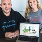 BETTER CONNECTION: Nick Cardi III, interim executive director, and Jamie Lavoie, director of facilitation, are co-founders of the FastTrek.org Foundation Inc., a website that matches patients and caregivers with clinical medical trials. / PBN PHOTO/MICHAEL SALERNO