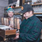 FINANCIAL BOOST: A $100,000 Small Business Assistance Program loan from R.I. Commerce Corp. helped Shaidzon Beer co-owners Josh Letourneau, left, and Chip Samson launch their brewing company in South Kingstown. / PBN FILE PHOTO/MICHAEL SALERNO