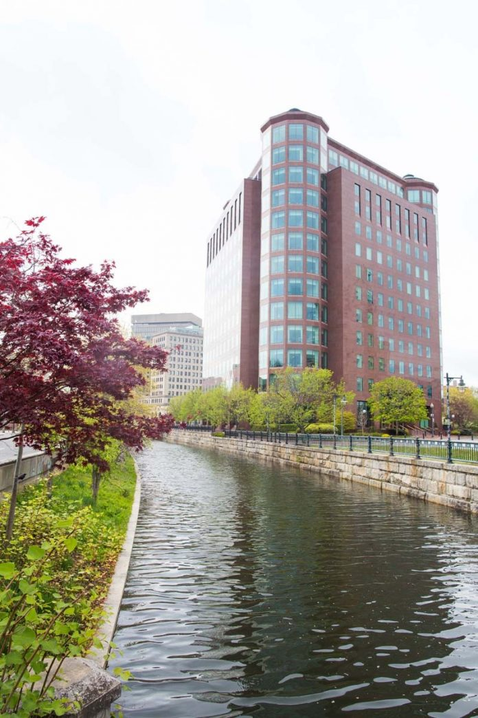 THE COMMERCIAL TOWER tower at 1 Citizens Plaza, Providence has been sold to Radix Equity. The sale price was not immediately available. / PBN FILE PHOTO/STEPHANIE EWENS