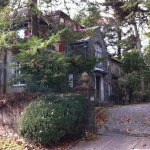 THE BILOTTI GROUP and Nicholson 2018 LLC, owner of the Beresford-Nicholson Estate on Blackstone Boulevard in Providence, which includes a greenhouse and gardener's house in addition to the main house, above, have proposed to raze the structures and convert the property to 10 house lots. / PBN FILE PHOTO/MARY MACDONALD