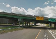 REPAIR WORK on bridges that carry I-295 traffic at its interchange with Routes 6 and 6A will begin on Nov. 16. Work will continue through the summer of 2019. / COURTESY GOOGLE LLC
