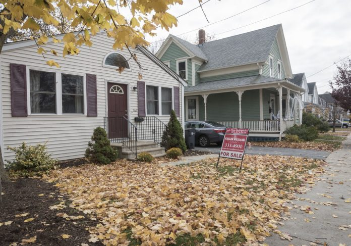 THE MEDIAN PRICE of a single-family home in Massachusetts increased 3.9 percent year over year in October to $374,000. / PBN FILE PHOTO/MICHAEL SALERNO