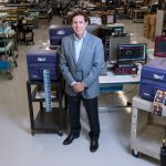 ASTRONOVA reported a net income of $1.4 million in the third quarter of fiscal 2019. Above, AstroNova President and CEO Gregory A. Woods. / PBN FILE PHOTO/ MICHAEL SALERNO