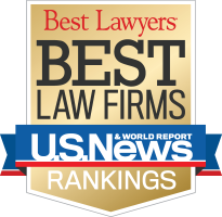 TEN LAW FIRMS with local practices received national recognition in the U.S. News & World Report's 2019 Best Law Firms rankings. / COURTESY U.S. NEWS & WORLD REPORT