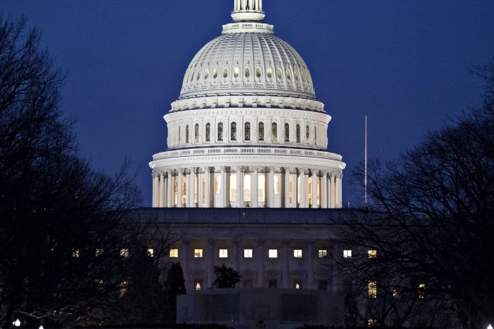 THE UNITED STATES had the largest November budget deficit ever recorded this year. / BLOOMBERG NEWS FILE PHOTO/ANDREW HARRER