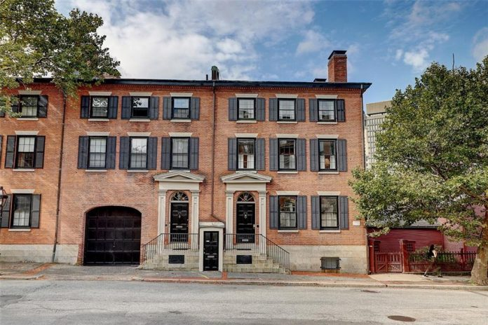 THE PROPERTY AT 270-272 Benefit St. in Providence sold for $2.1 million. / COURTESY MOTT & CHACE SOTHEBY'S INTERNATIONAL REALTY