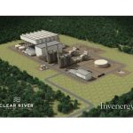 THE CLEAR RIVER ENERGY CENTER, shown here in a rendering from Invenergy Inc., is the subject of state regulatory hearings that resumed this week on the $1 billion proposal./COURTESY INVENERGY