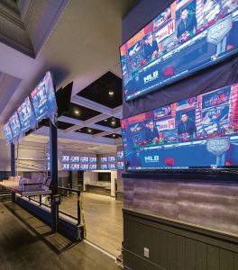 SPORTS BETTING: Pictured is the new sports-betting facilities at Twin River Casino Hotel in Lincoln. The expansion of sports betting to mobile options is expected to be introduced in the General Assembly this year.