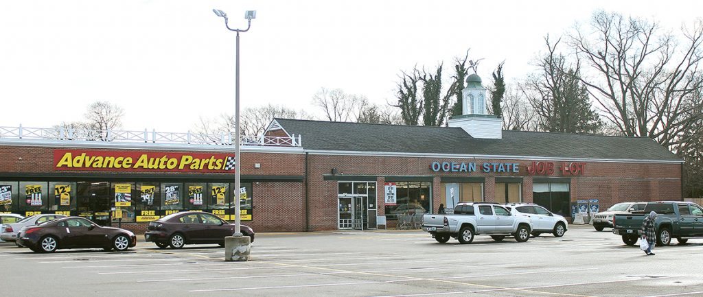 1290 Warwick Ave. (1960)OWNER: Nelmor Realty Corp.TENANTS: Advance Auto Parts, Ocean State Job Lot