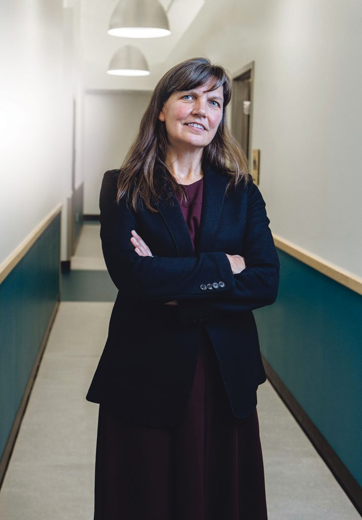 Before becoming president and CEO of Thundermist Health Center in 2017, Jeanne LaChance served as the health care provider's chief financial officer, which followed executive positions at Westerly Hospital and United Memorial Medical Center in Batavia, N.Y. / PBN PHOTO/RUPERT WHITELEY