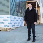 WARY LANDLORD: Dustin Dezube, owner of Providence Student Living Capital LLC, has 125 properties in Providence, including several buildings on East Transit Street that are newly constructed or renovated. He mostly rents to college students and is concerned a proposed city regulation to expand an existing three-student cap to all structures in single-family zones, could also be applied to multifamily zones.   / PBN PHOTO/RUPERT WHITELEY