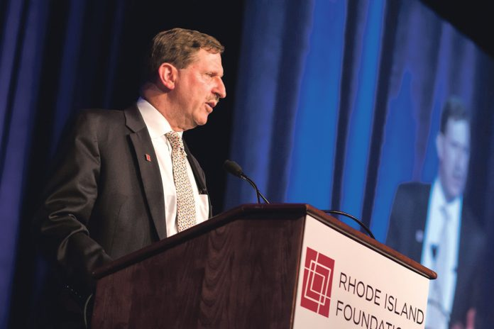 KEYNOTE SPEAKER: Rhode Island Foundation President and CEO Neil D. Steinberg will deliver the keynote address at the Northern Rhode Island Chamber of Commerce's 28th annual Chamber Dinner at the Twin River Casino Hotel in Lincoln on Feb. 6.