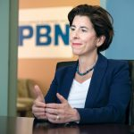 GOV. GINA M. RAIMONDO's fiscal 2020 budget includes a proposal to legalize adult use of marijuana and to expand the state's existing medical-marijuana program. / PBN FILE PHOTO/MICHAEL SALERNO