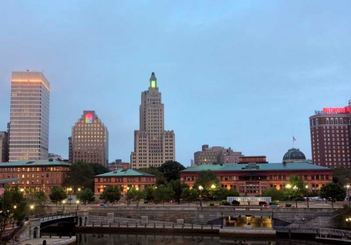 COMMERCIAL REAL ESTATE absorption totaled more than 150,000 square feet across the eight downtown districts in Providence, with a total vacancy rate of 9.8 percent, an improvement from the 12 percent reported at year-end 2017. / PBN FILE PHOTO/MICHAEL SALERNO