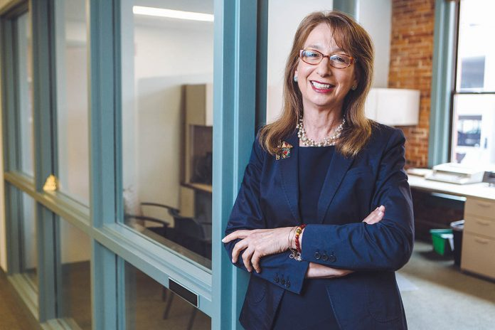 R.I. HOUSING CEO and Executive Director Barbara Fields will exit her role following the expiration of her contract on March 1 to explore opportunities at a national level. / PBN FILE PHOTO/RUPERT WHITELEY