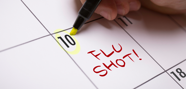 FLU VACCINES are up 10 percent over last year, a good sign for this year's flu season, the R.I. Department of Health reports. / COURTESY CENTERS FOR DISEASE CONTROL AND PREVENTION
