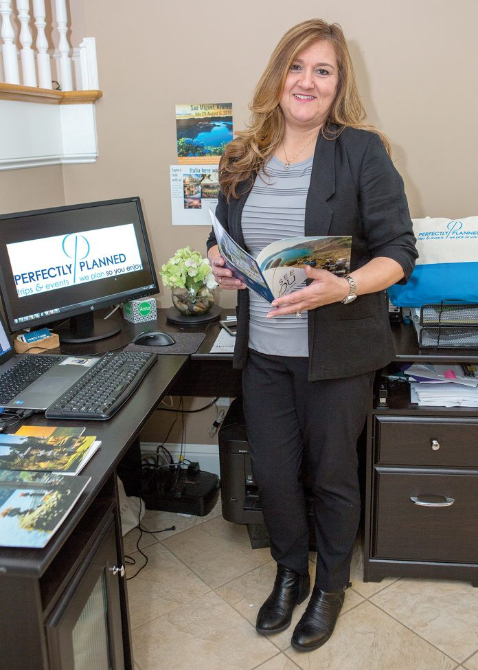EXPANDING BUSINESS: Anna Soares is the owner and president of Perfectly Planned, a wedding and corporate-event-planning business in Somerset. She said the business will expand into guided group tours this year. / PBN PHOTO/KATE WHITNEY LUCEY