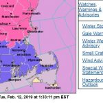 """THE NATIONAL WEATHER Service has issued a Winter Weather Advisory for Rhode Island and Bristol County, Mass., predicting a """"significant impact"""" on the afternoon and evening commute Tuesday. / COURTESY NATIONAL WEATHER SERVICE"""