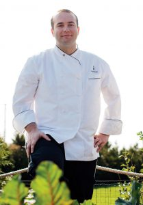 WILD MUSHROOMS: Lou Rossi, executive chef of the Castle Hill Inn in Newport, participated in the GourmetFest in Carmel, Calif., where he led guests on a hunt for wild mushrooms and then prepared a wild-mushroom lunch with accompanying wines. / COURTESY CASTLE HILL INN