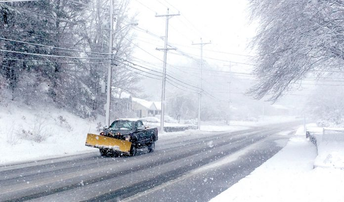SNOW KNOCKED out power to thousands of customers in Rhode Island Monday morning. / PBN FILE PHOTO/ROB BORKOWSKI