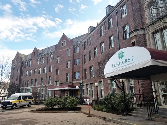 BRINGING PAST TO PRESENT: The Elmhurst Rehabilitation and Healthcare Center, housed in the former Women & Infants Hospital building that was built in 1900, was given a $5.7 million facelift by Marquis Health Services, an affiliate of Tryko Partners.