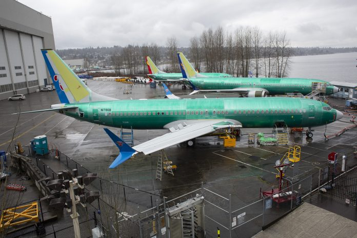 THE UNITED STATES has grounded the Boeing 737 MAX family of airliners following two fatal crashes in five months, both outside of the U.S. / BLOOMBERG NEWS FILE PHOTO/DAVID RYDER