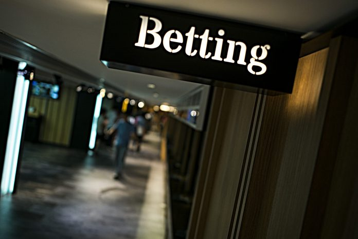 RHODE ISLAND BETTORS bested the sportsbook in February. / BLOOMBERG NEWS FILE PHOTO/ JUSTIN CHIN