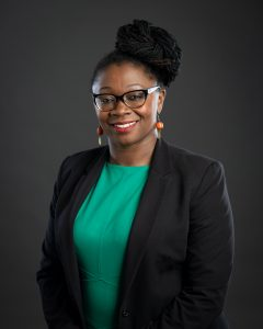 ANGELA BANNERMAN ANKOMA, executive vice president and director of community investment at the United Way of Rhode Island, has been selected as the 2019 Rising Star for the PBN C-Suite Awards. / COURTESY UNITED WAY OF RHODE ISLAND