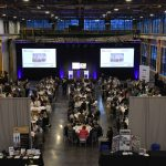 A RECORD CROWD of more than 320 attended the sixth PBN Manufacturing Awards program, held at WaterFire Providence's headquarters in the Valley neighborhood of the city. / PBN PHOTO/MIKE SKORSKI