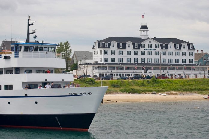 THE R.I. DEPARTMENT of Public Utilities and Carriers has opened an investigative docket into Interstate Navigation's plans to build a 500-passenger high-speed ferry. / COURTESY BLOCK ISLAND TOURISM COUNCIL