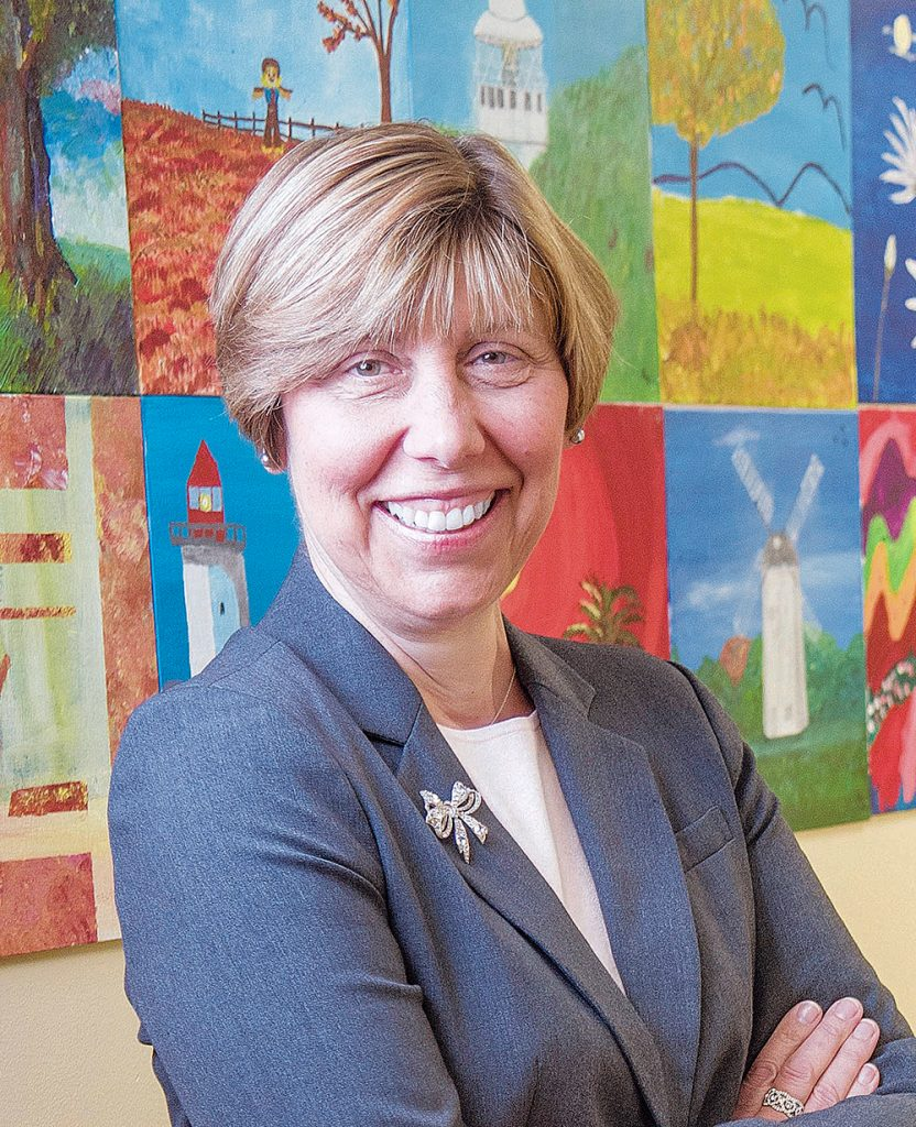 JOAN KWIATKOWSKI will relinquish her role as CEO of CareLink on April 1 but will remain CEO of PACE Organization of Rhode Island . The organzaitions said the move reflects growth at both nonprfots. / PBN FILE PHOTO/ MICHAEL SALERNO