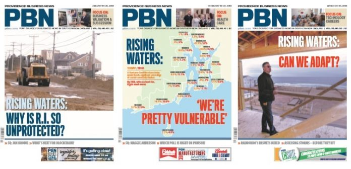 PROVIDENCE BUSINESS NEWS took home first-place honors in the Energy/Natural Resources category for small publications in the annual Best in Business recognition program of the Society for Advancing Business Editing and Writing.