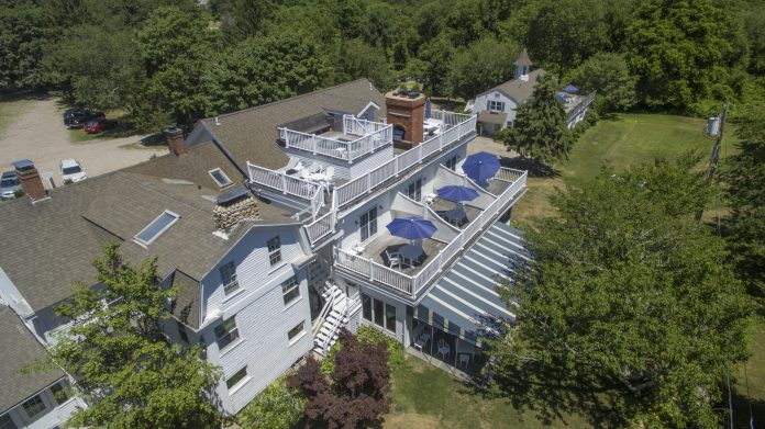 THE SHELTER HARBOR INN in Westerly was sold for $3.1 million. The new owners intend to keep the property as an inn and restaurant. / COURTESY RANDALL, REALTORS