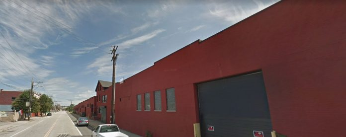THE PROPERTY AT 382-420 and 780 Harris Ave. in Providence was sold for $1 million. / COURTESY GOOGLE INC.