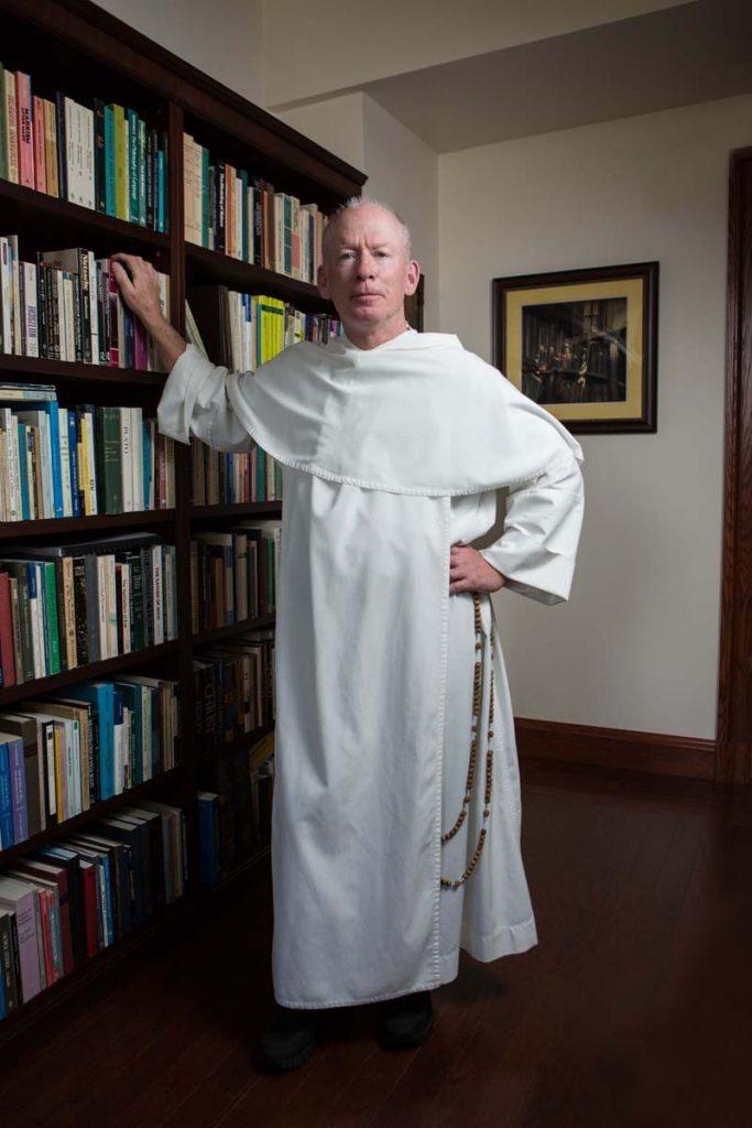 PROVIDENCE COLLEGE PRESIDENT Rev. Brian J. Shanley is stepping down in June 2020./ PBN FILE PHOTO/RUPERT WHITELEY