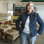 CREDIT IS DUE: Lisa Roth Blackman, chief philanthropy officer at the Rhode Island Community Food Bank, and her team have been instrumental in raising the visibility of the nonprofit and its mission.