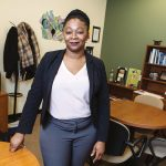 A GIVING PERSON: Angela Bannerman Ankoma, executive vice president and director of community investment for United Way of Rhode Island, oversees millions of dollars in grants to programs and organizations annually. / PBN PHOTO/RUPERT WHITELEY
