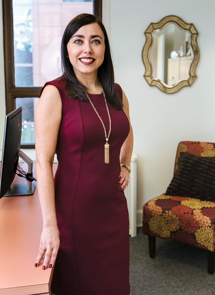 In 1994, Joyce Fastino began working as a recruiter for The Personnel People, a staffing and recruiting firm in Providence. In 2001 Fastino purchased the company to continue its mission of helping businesses with legal, accounting and administrative staffing needs. / PBN PHOTO/RUPERT WHITELEY