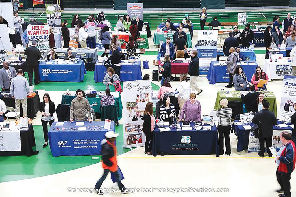 CAREER CHANGE: The SouthCoast Chamber of Commerce will hold its annual SouthCoast Job Fair on April 18 at the Greater New Bedford Regional Vocational Technical High School in New Bedford.