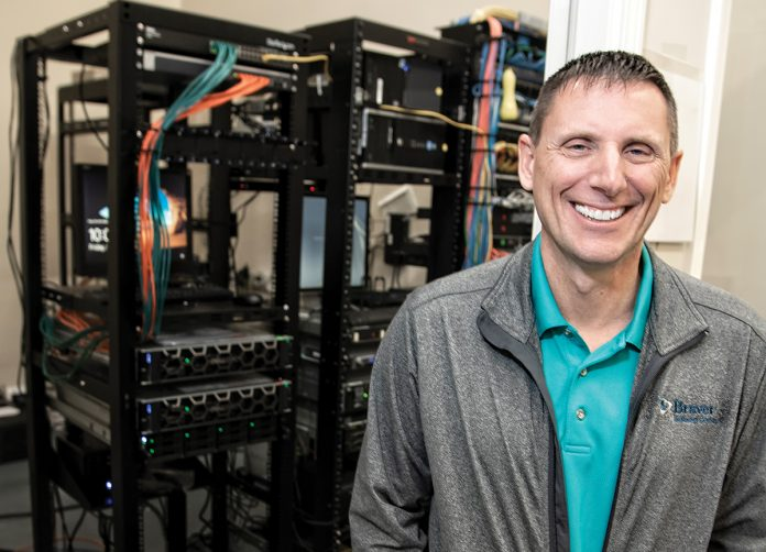 OUTSOURCED: Kenny Rounds is the owner and CEO of Braver Technology Solutions, a business that provides information technology tech and solutions to businesses in Massachusetts and Rhode Island.