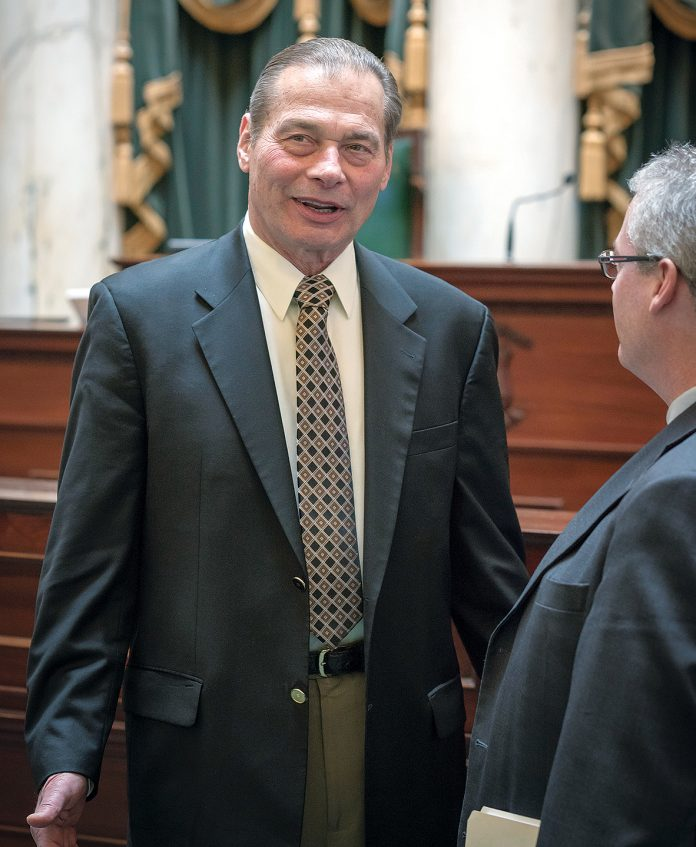 A BILL INTRODUCED by Senate President Dominick J. Ruggerio, D-Providence, that would give greater power to the state to direct projects on state-owned land, will now move to the Senate for a vote. / PBN FILE PHOTO/MICHAEL SALERNO
