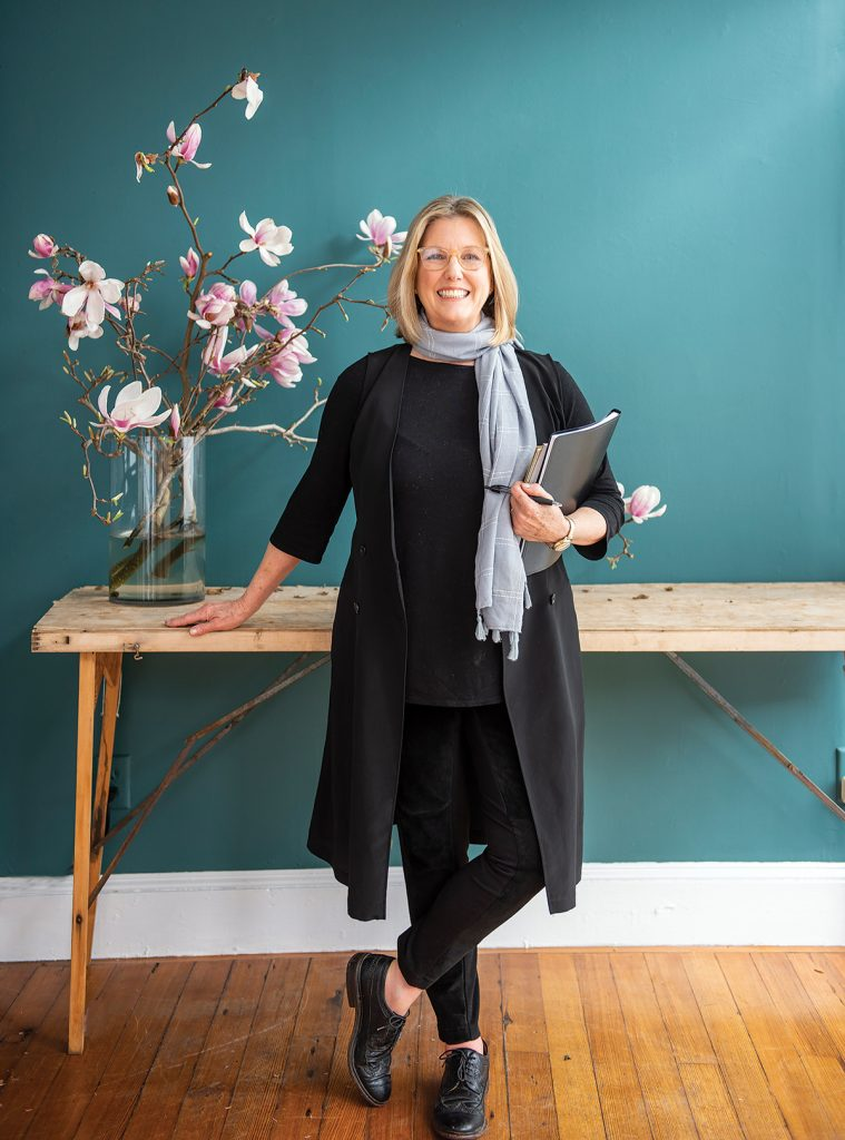 Brenda Brock has taken the possibilities born of the land and created Farmaesthetics, a skin care line that has earned her many honors, including being named the 2013 Small Business Person of the Year in Rhode Island. / PBN PHOTO/DAVE HANSEN