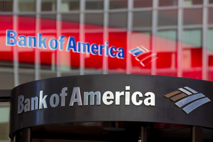 BANK OF AMERICA CORP. plans to raise its minimum wage to $20 an hour over two years. / BLOOMBERG NEWS FILE PHOTO/JIN LEE