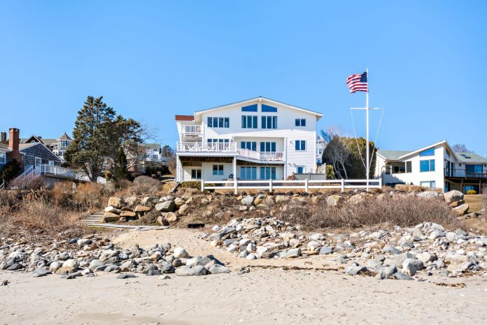 THE PROPERTY AT 18 Gardiner St.. in Narragansett was sold for $2.3 million. / COURTESY MOTT & CHACE SOTHEBY'S INTERNATIONAL REALTY