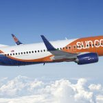 SUN COUNTRY AIRLINES, on the day that it began operating at T.F. Green, announced the planned addition of routes from Warwick to New Orleans and Las Vegas. / COURTESY MN AIRLINES LLC